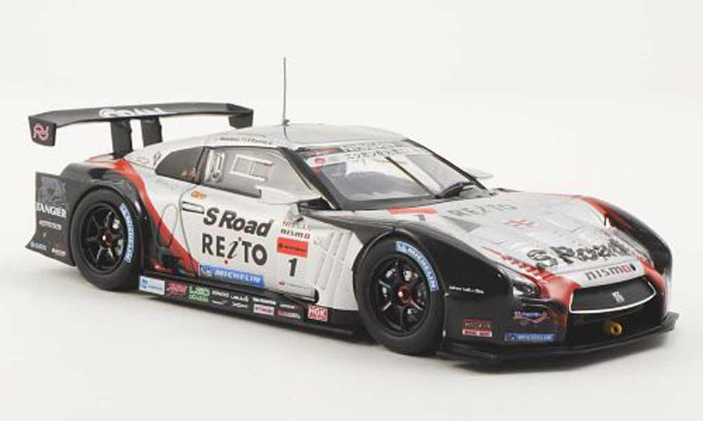 Nissan Skyline R35 1/43 Ebbro GT-R No.1 S Road Reito Mola Super GT500 2012 miniature