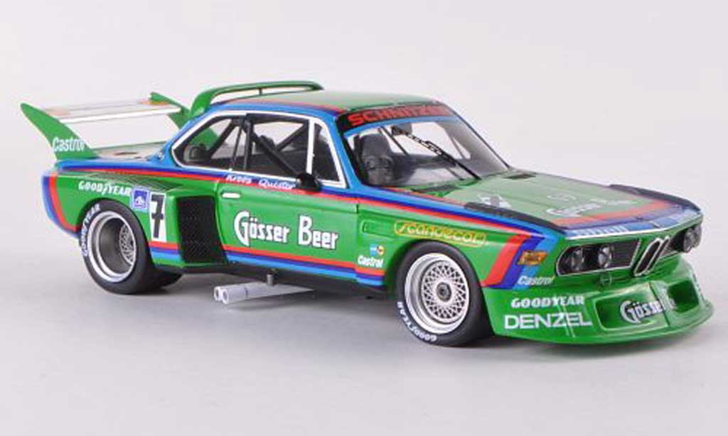 Bmw 3.0 CSL 1/43 Spark No.7 Gosser Bier 1000Km Nurburgring 1976 D.Quester/A.Krebs diecast model cars