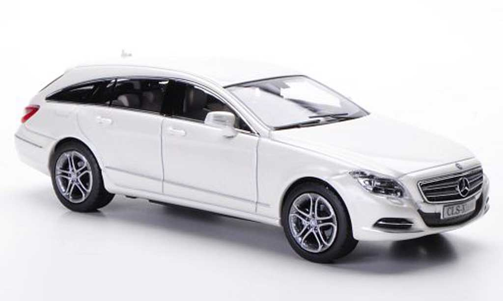 Mercedes Classe CLS 1/43 Norev Shooting Brake (X218) gray 2012 diecast
