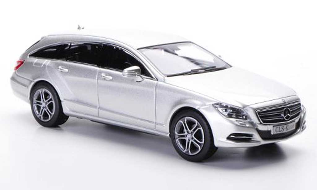 Mercedes Classe CLS 1/43 Norev Shooting Brake (X218) blanche 2012 miniature