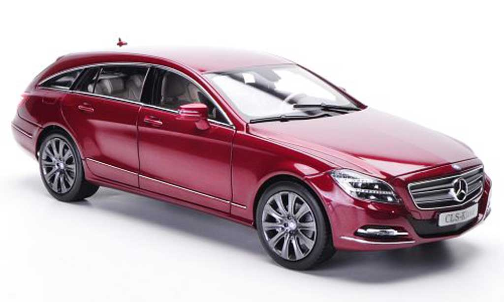 Mercedes Classe CLS Shooting Brake 1/18 Norev Shooting Brake (X218) red 2012 diecast