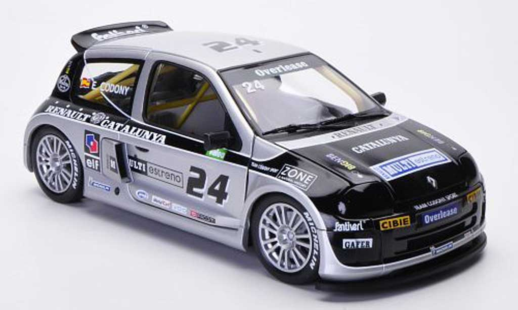 Renault Clio Cup 1/18 Eagle Sport Trophy No.24 E.Codony Catalunya Trophy miniature