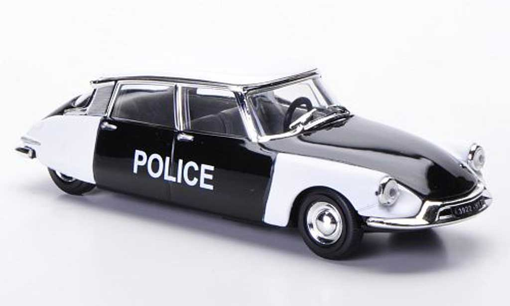 Citroen DS 19 1/43 Solido Police Polizei (F) 56 miniature