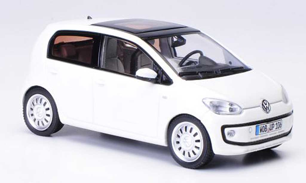 Volkswagen UP! 2011 1/43 Schuco 2011 blanche Funfturer 2011 miniature