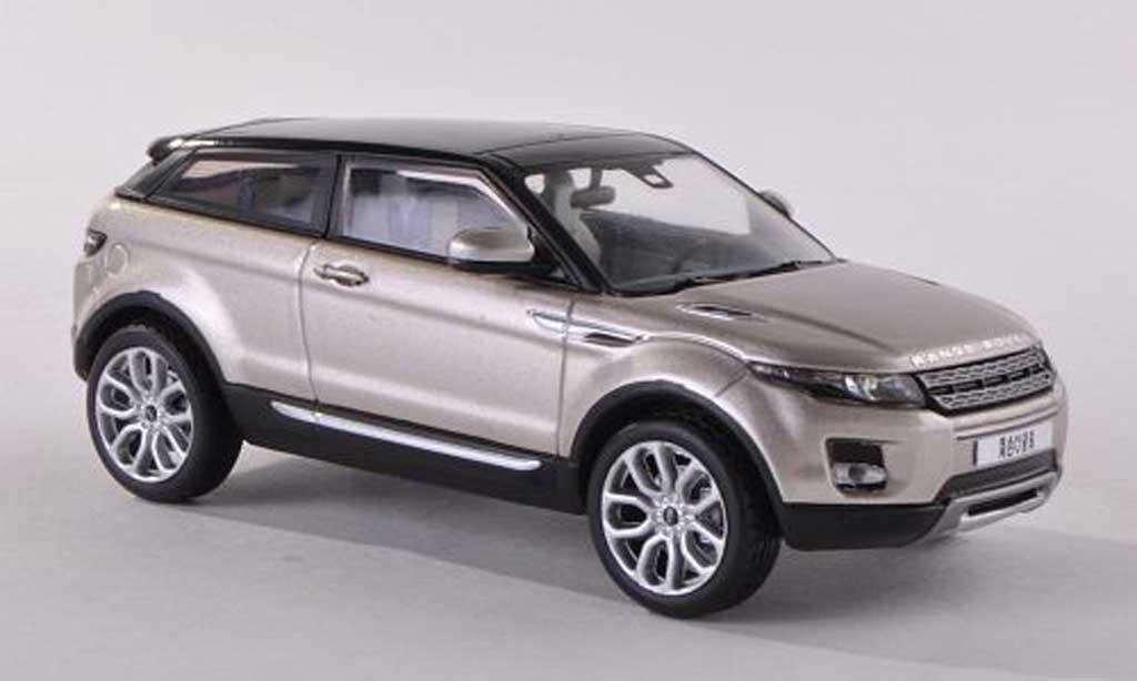 Range Rover Evoque 1/43 IXO beige/noire 3-portes 2011 miniature