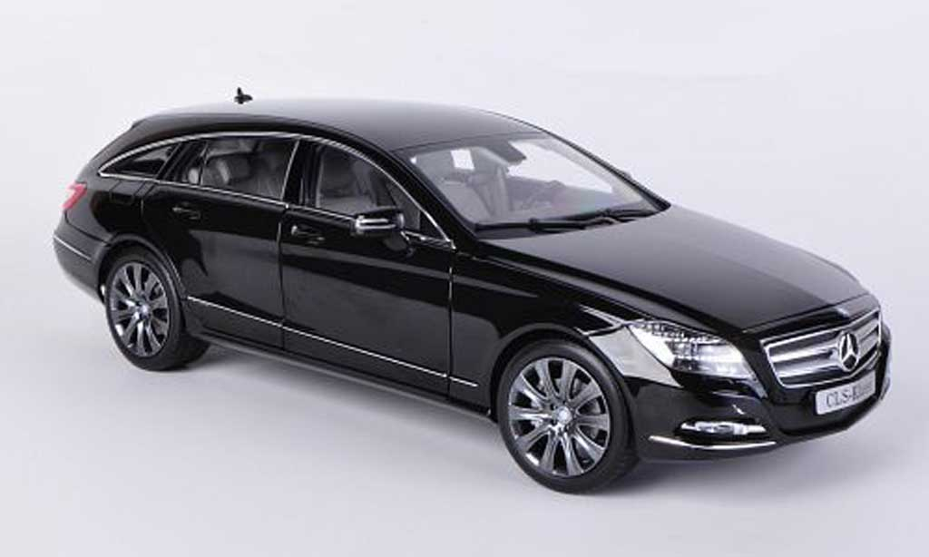 Mercedes Classe CLS Shooting Brake 1/18 Norev (X218) noire 2012 miniature