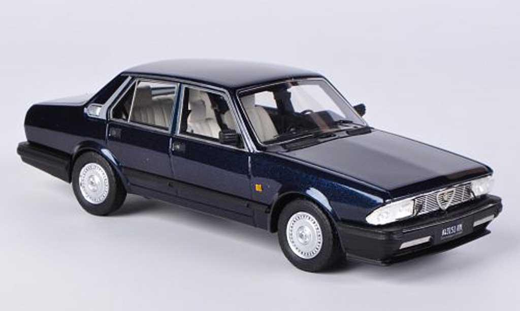 Alfa Romeo Alfa 6 2.5i 1/43 Kess V6 Quadrifoglio bleu 1983 miniature