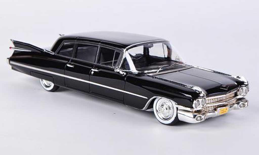 Cadillac Series 75 1/43 Kess Limousine black 1959 diecast