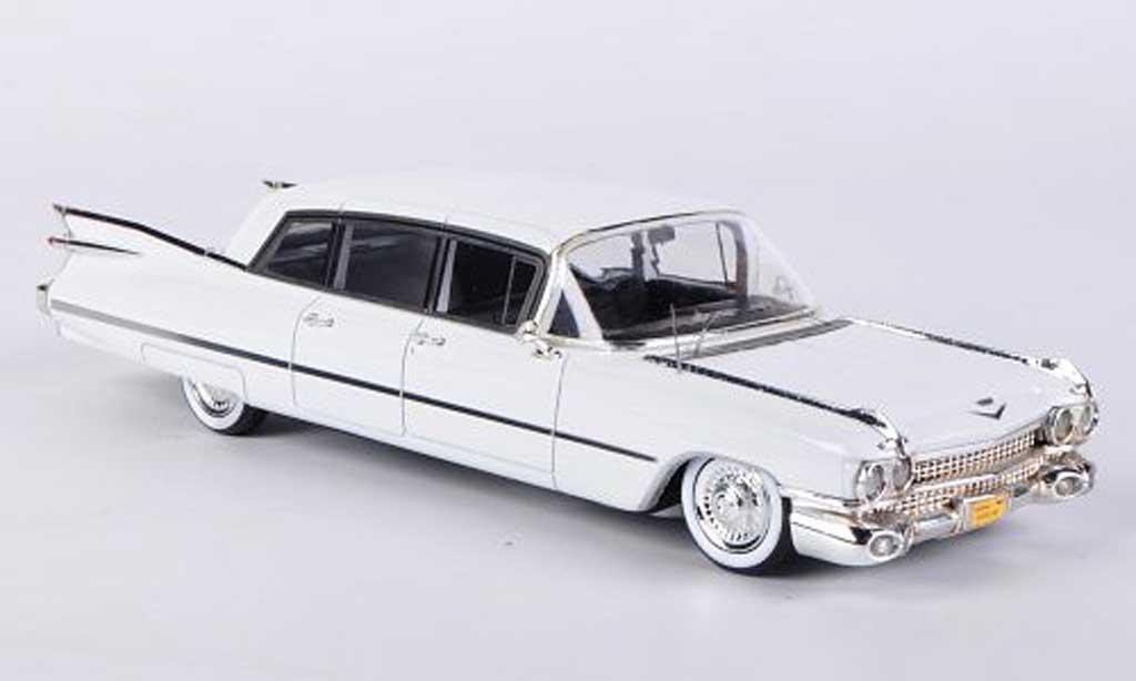 Cadillac Series 75 1/43 Kess Limousine white 1959 diecast