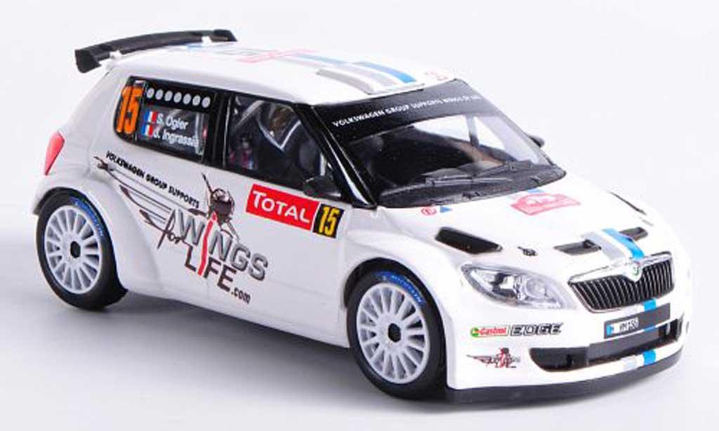 Skoda Fabia S2000 1/43 Abrex No.15 S.Ogier / J.Ingrassia Rally Monte Carlo 2012 miniature