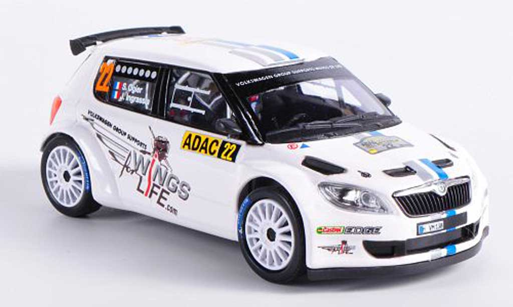 Skoda Fabia S2000 1/43 Abrex No.22 S.Ogier / J.Ingrassia ADAC Rally Deutschland 2012 diecast