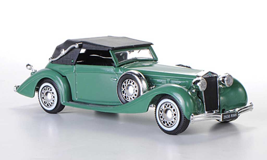 Delage D8-120 1/43 Solido Cabriolet grun 1939 miniature