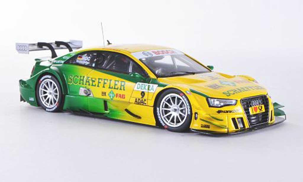 Audi A5 DTM 1/43 Spark No.9 Schaeffler M.Rockenfeller Saison 2012 diecast model cars