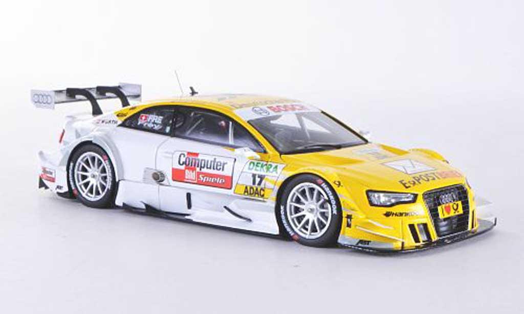 Audi A5 DTM 1/43 Spark No.17 Computer Bild/Deutsche Post R.Frey Saison 2012 diecast model cars
