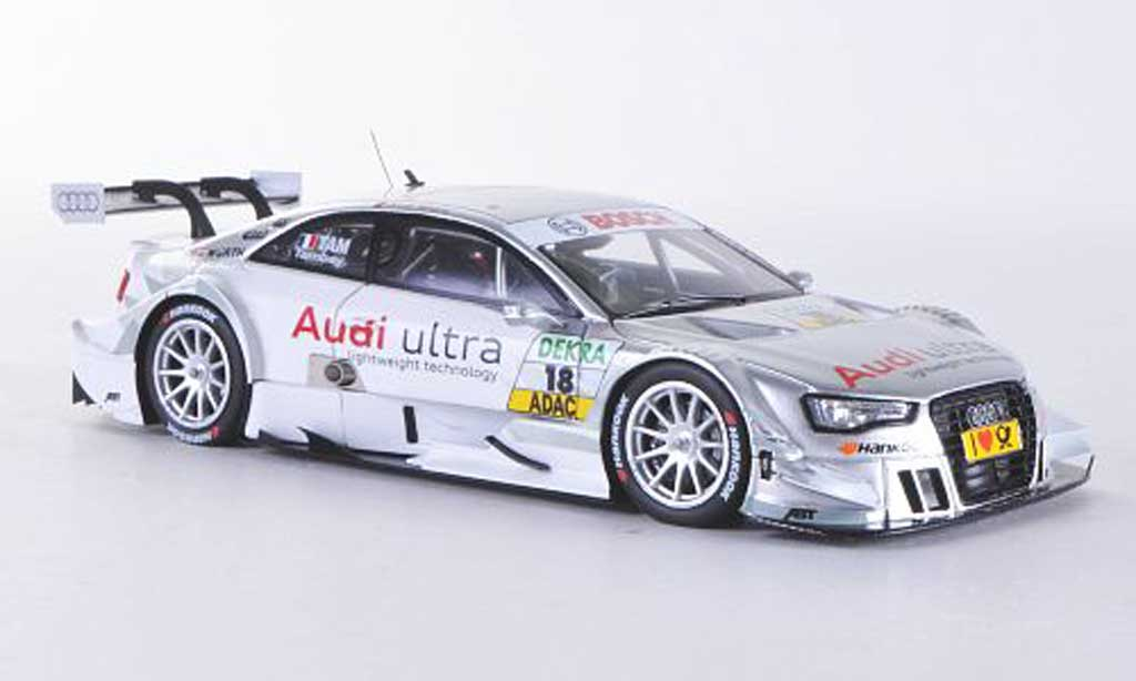 Audi A5 DTM 1/43 Spark No.18 ultra A.Tambay Saison 2012 diecast model cars