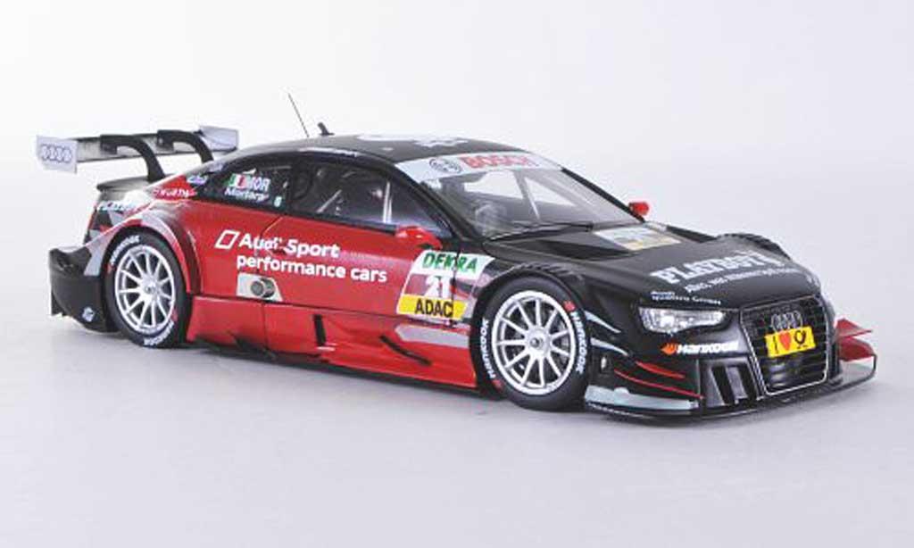 Audi A5 DTM 1/43 Spark No.21 Sport/Playboy E.Mortara Saison 2012 diecast model cars