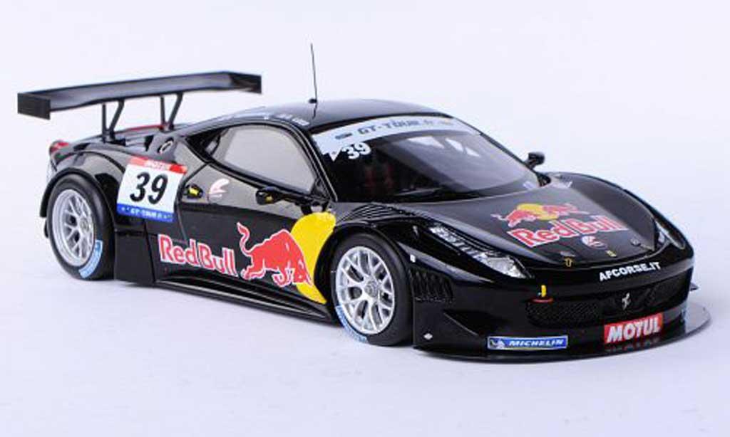 Ferrari 458 Italia GT3 1/43 Fujimi No.39 Red Bull AF Corse S.Loeb / B.Hernandez GT Tour 2011 miniature