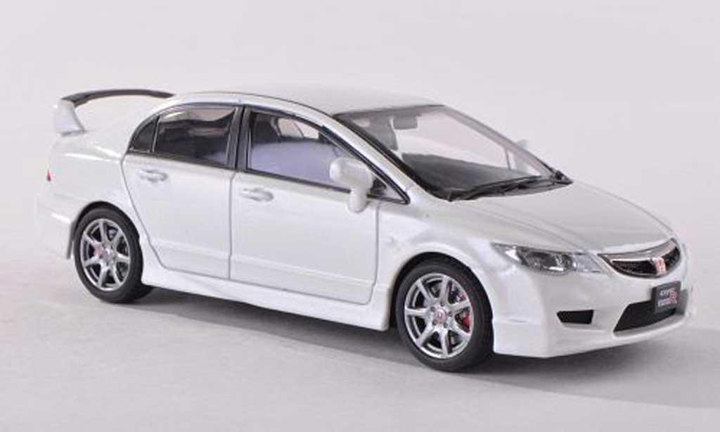 Honda Civic Type R 1/43 Ebbro FD2 blanche miniature