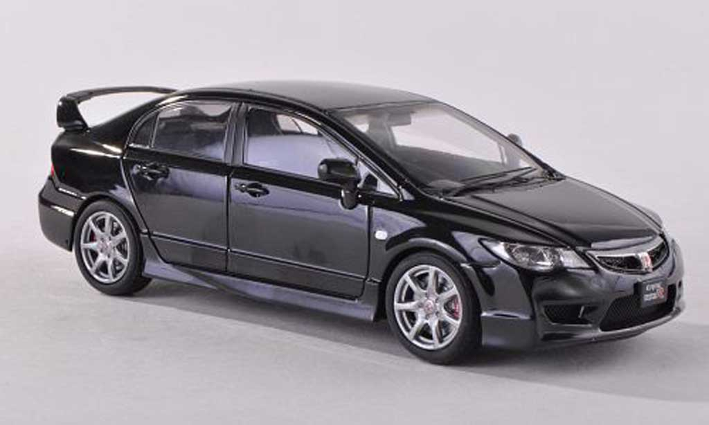 Honda Civic Type R 1/43 Ebbro FD2 black diecast model cars