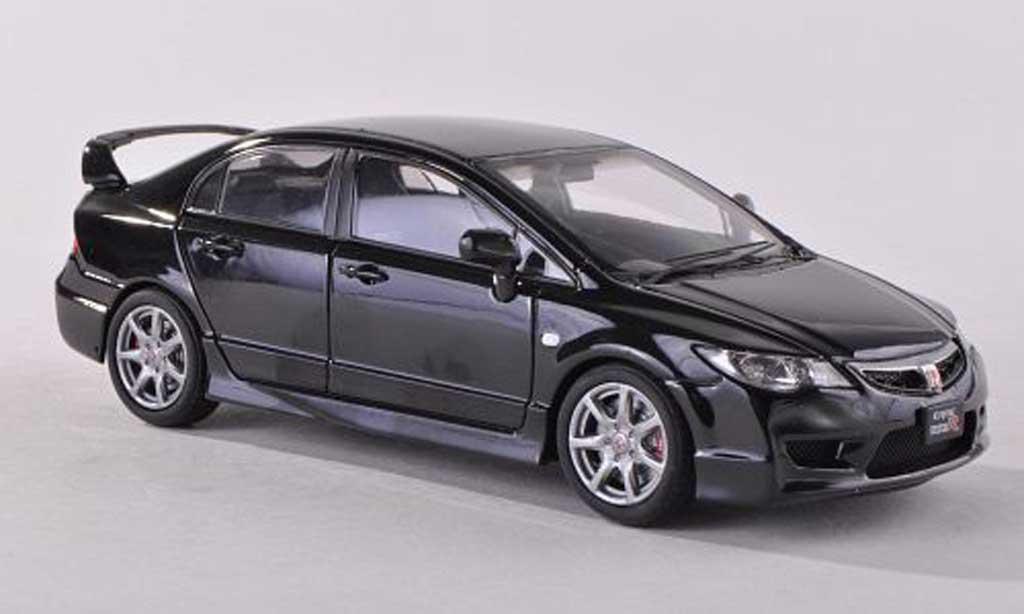 Honda Civic Type R 1/43 Ebbro FD2 noire miniature