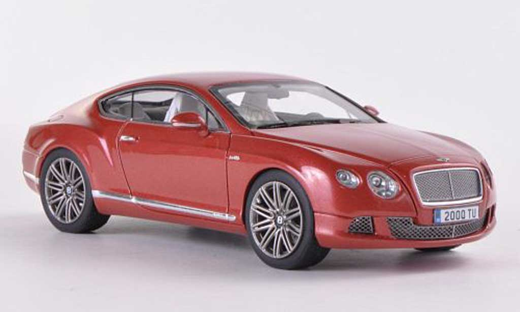 Bentley Continental GT 1/43 Look Smart Speed rot-braun modellautos