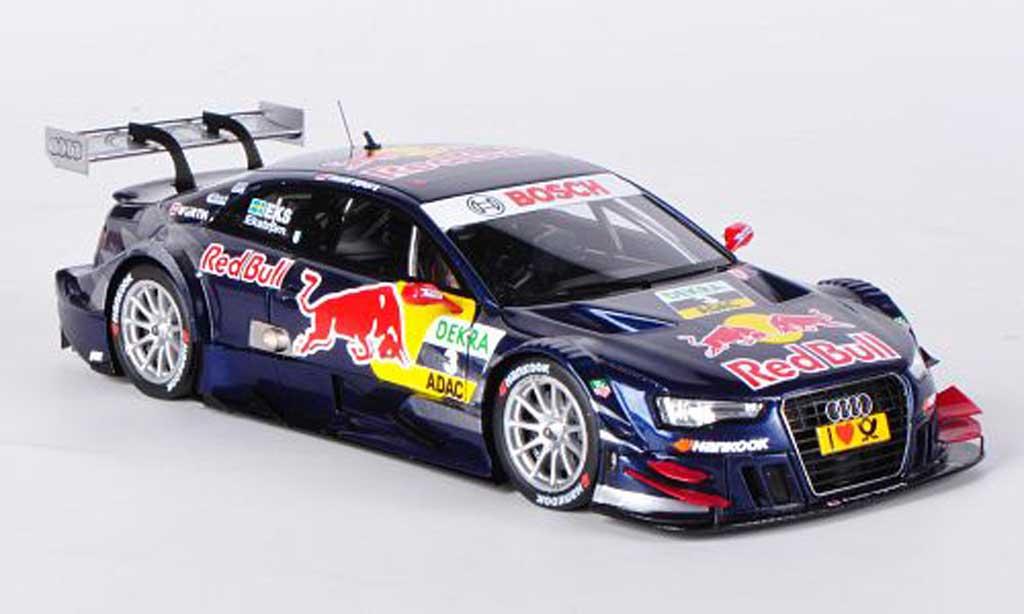 Audi A5 DTM 1/43 Spark No.3 Red Bull M.Ekstrom -Saison 2012 diecast model cars