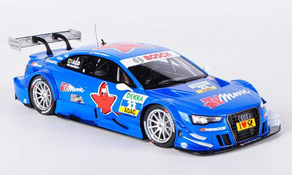 Audi A5 DTM 1/43 Spark No.22 TV Movie F.Albuquerque -Saison 2012 miniature