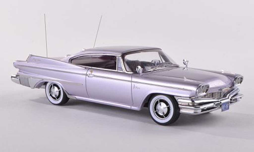 Dodge Polara 1/18 Neo 2-Door Hardtop Coupe clair-lila  1960 diecast