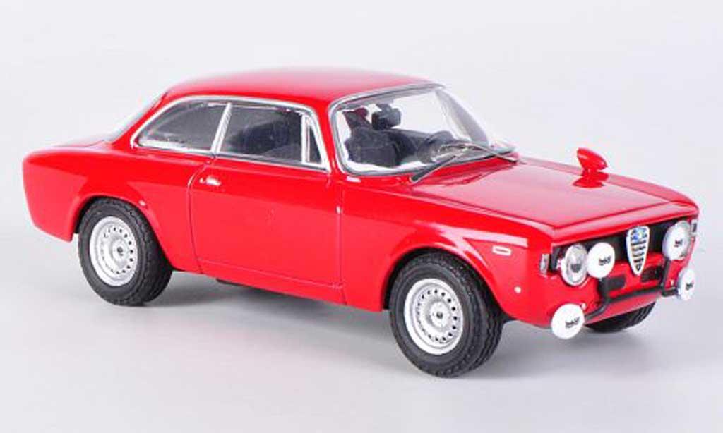 Alfa Romeo Giulia 1600 GTA 1/43 M4 rouge 1968 miniature