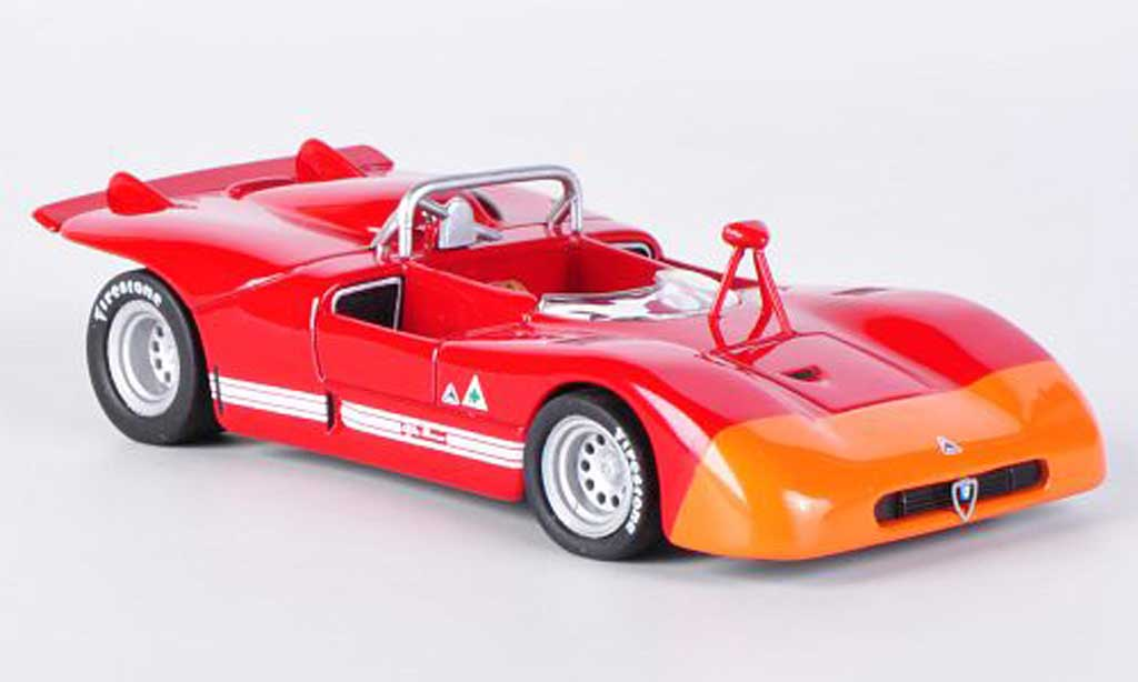 Alfa Romeo 33.3 1971 1/43 M4 rouge/orange miniature