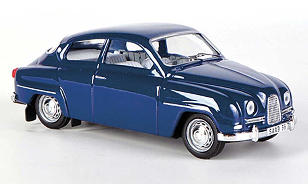Saab 96 1/43 Skandinavisk bleu 1960 diecast