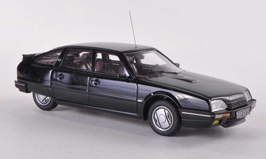 Citroen CX 1/43 Neo GTi Turbo 2 nero 1986 modellino in miniatura