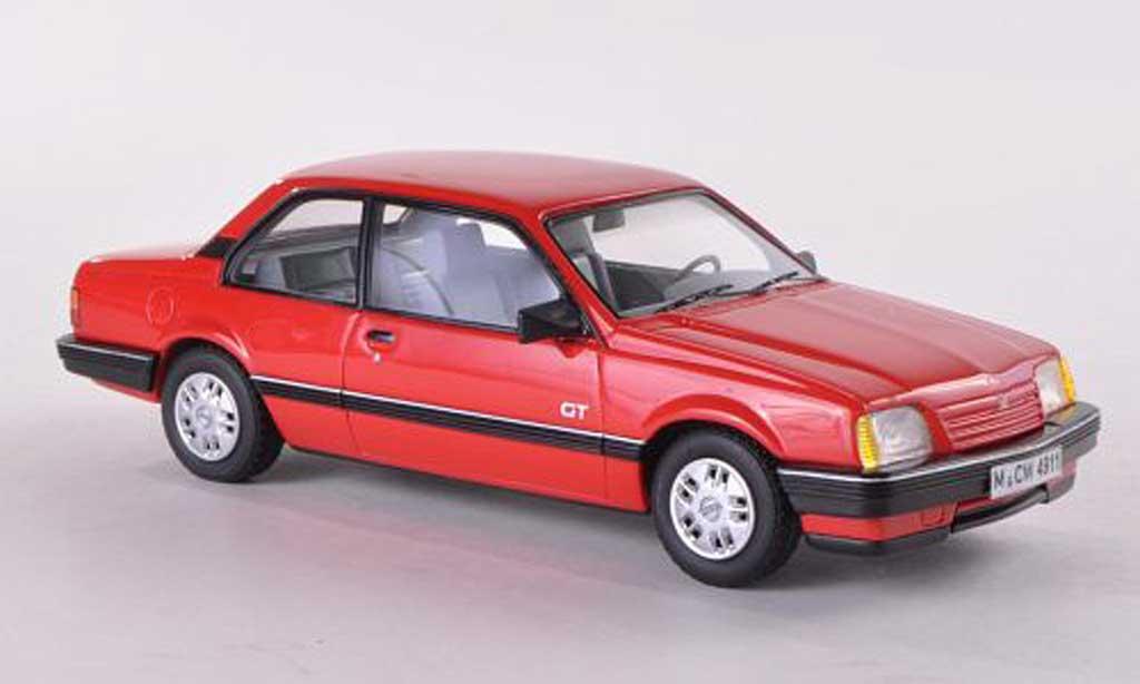 Opel Ascona C 1/43 Neo GT 2-Turer rouge limitierte Auflage 300 Stuck 1986 miniature