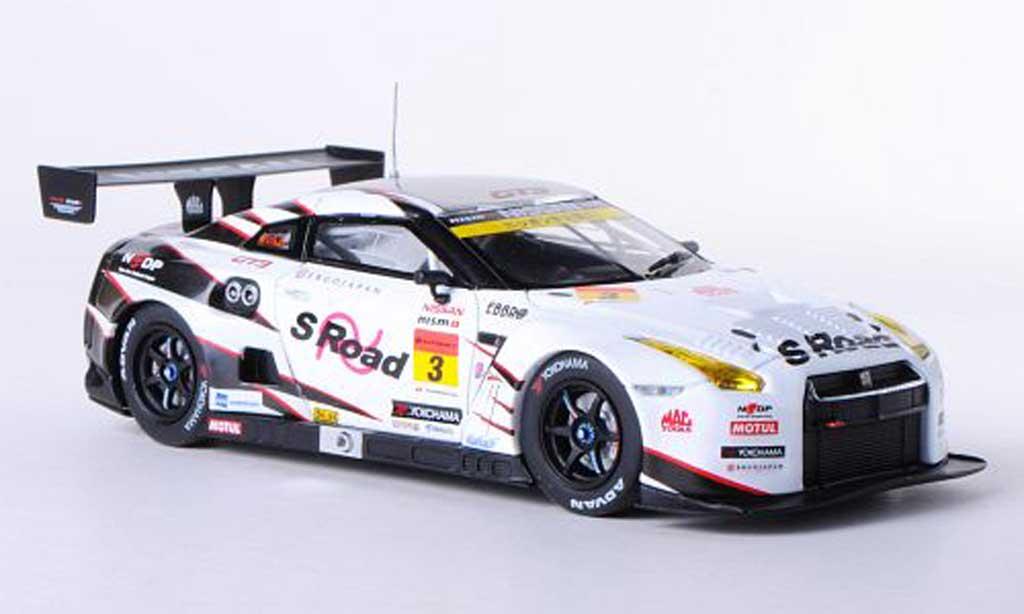 Nissan Skyline R35 1/43 Ebbro GT-R No.3 S Road NDDP SGT300 2012 Y.Sekiguchi/K.Chiyo diecast model cars