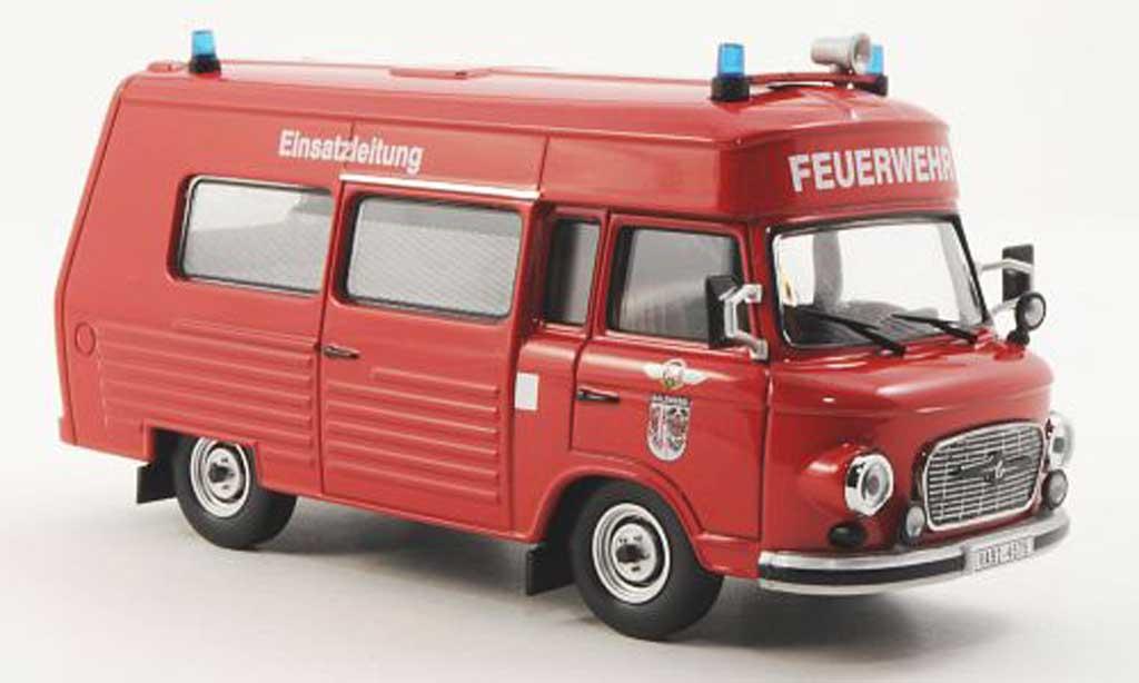 Barkas B 1000 1/43 IST Models SMH-3 Feuerwehr Salzwedel 1984 miniature