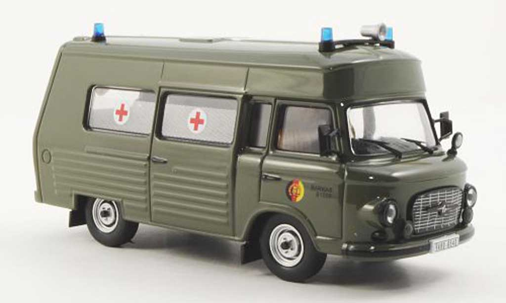 Barkas B 1000 1/43 IST Models SMH-3 NVA 1985 miniature