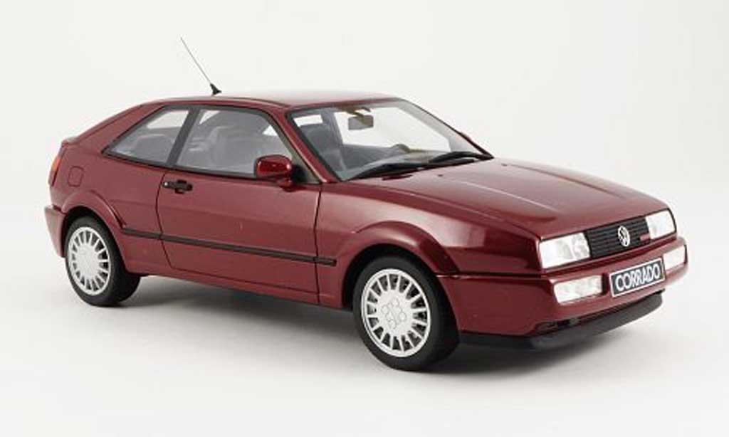 Volkswagen Corrado G60 1/18 Ottomobile rouge miniature