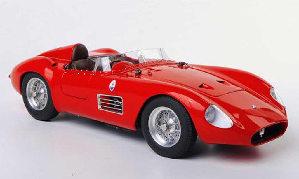 Maserati 300 1/18 CMC S rouge 1956 miniature
