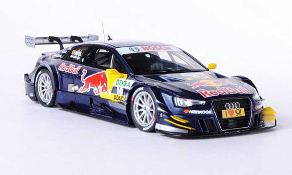 Audi A5 DTM 1/43 Spark No.10 Red Bull M.Molina DTM-Saison 2012 miniature