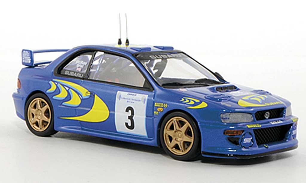 Subaru Impreza WRC 1/43 Trofeu No.3 C.McRae / N.Grist Tour de Corse 1997 modellino in miniatura