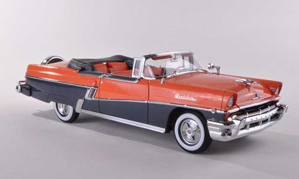 Mercury Montclair 1/18 Sun Star Convertible l/noire-gris 1956 miniature