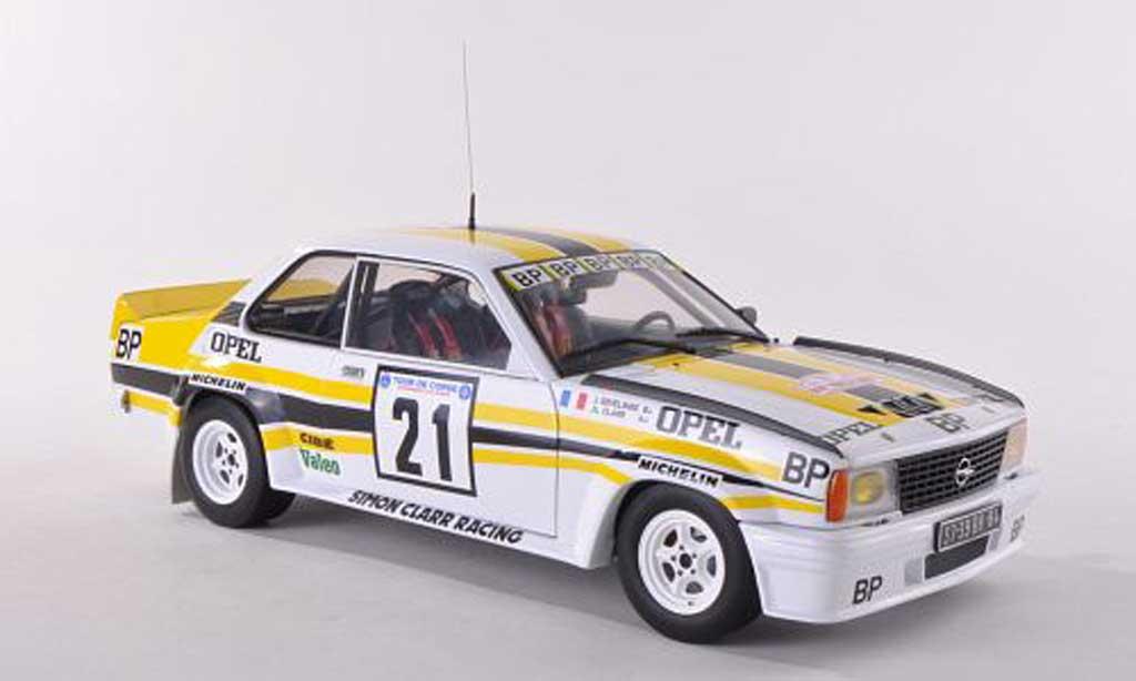 Opel Ascona 400 1/18 Sun Star No.21 BP Tour de Corse  1982 J.L Clarr/J.Sevelinge diecast