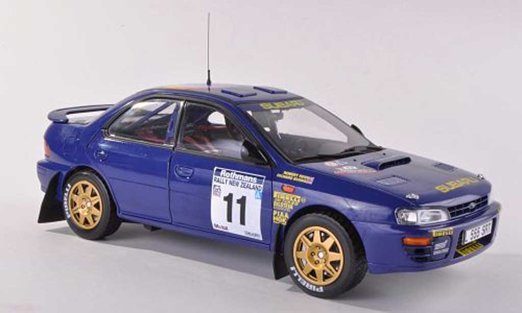Subaru Impreza WRC 1/43 Sun Star No.11 555 Rally Neuseeland  1994 R.Burns/R.Reid miniature