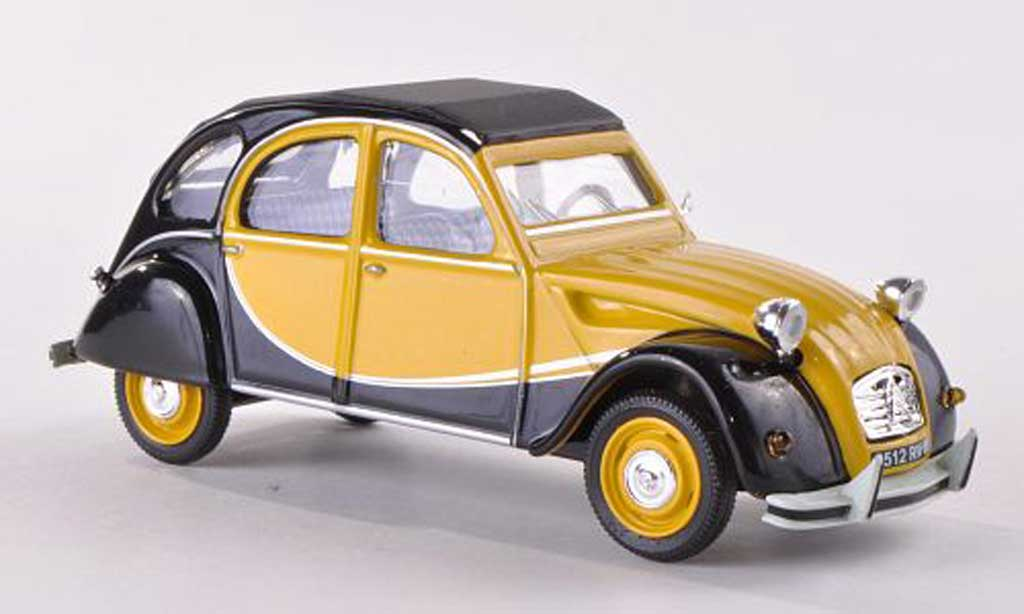 Citroen 2CV V6 1/43 Vitesse Charleston yellow/black  1982 diecast