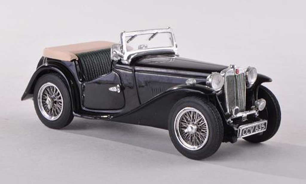 MG TC 1/43 Vitesse ougrun black RHD diecast model cars