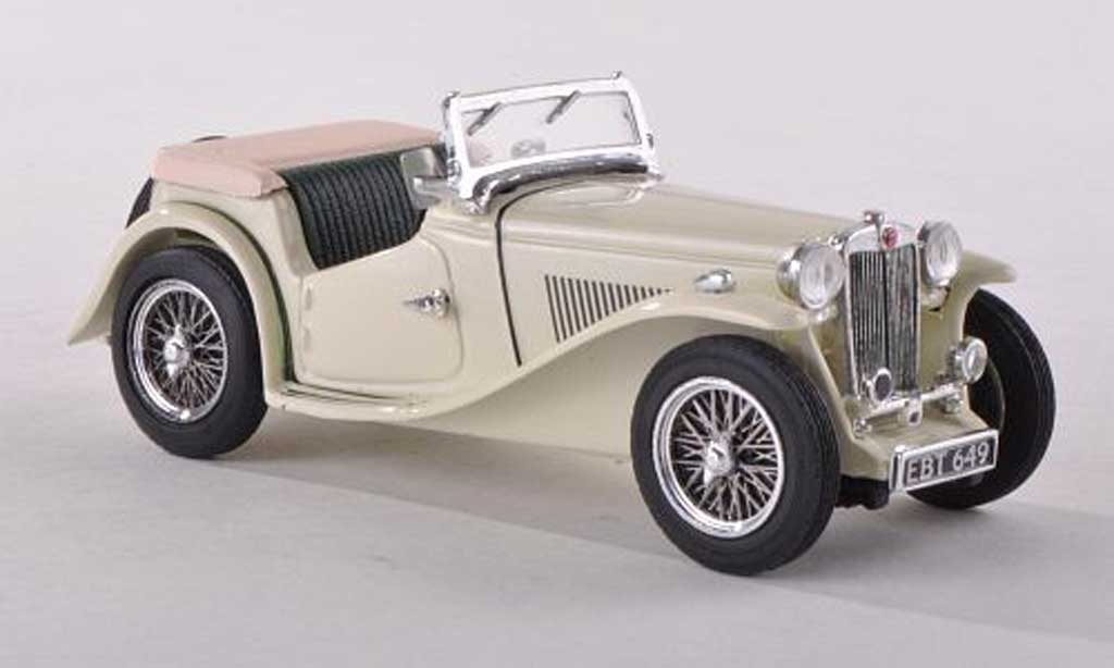 MG TC 1/43 Vitesse ougrun beige RHD diecast model cars