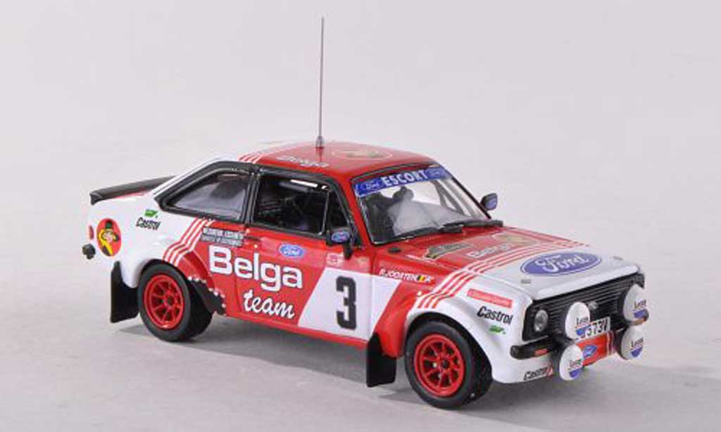 Ford Escort RS 1800 1/43 Vitesse MKII Belga No.3 Rally Bianchi  1982 R.Droogmans/R.Joosten miniature