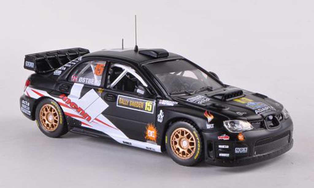 Subaru Impreza WRC 1/43 Vitesse 07 No.15 Adapta Rally Schweden 2010 M.Ostberg/J.Andersson miniature