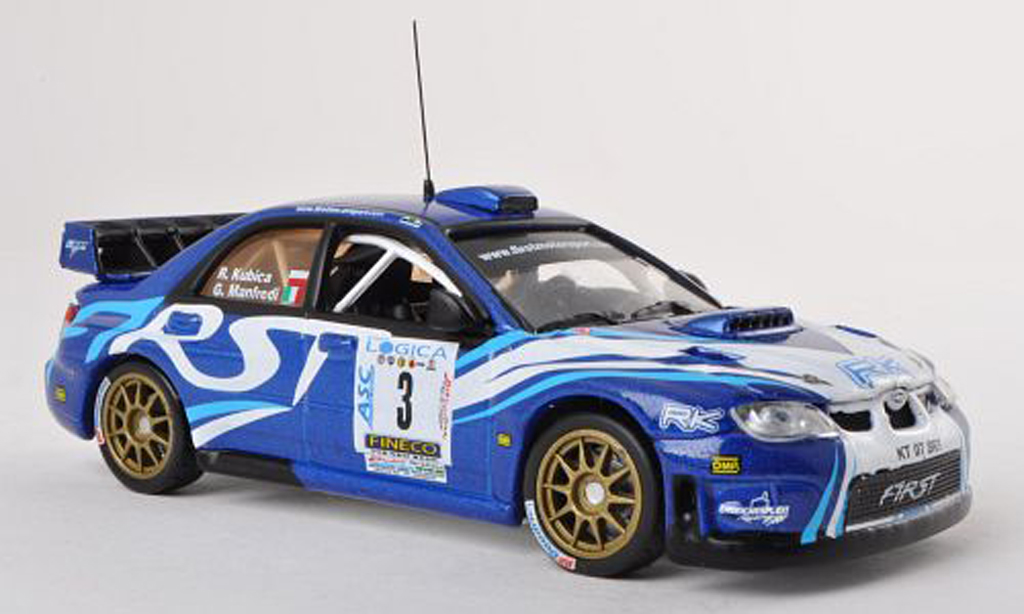 Subaru Impreza WRC 1/43 Vitesse 07 No.3 First Motorsport Ronde Gomitolo di Lana 2012 R.Kubica/G.Manfredi miniature