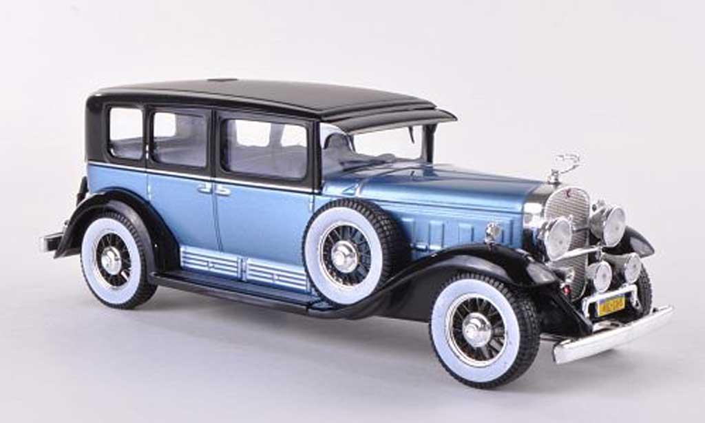 Porsche 930 1/43 WhiteBox bleue/noire 1930 miniature